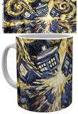 Doctor Who Exploding Tardis Mug Krus