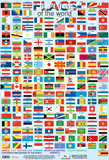 Flags Of The World Kunstdruck