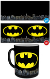 DC Comics Batman Logo Heat Change Mug Taza