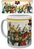 Street Fighter 5 Characters Mug Tazza