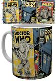 Doctor Who Comics Mug Muki