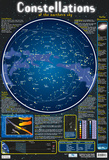 Northern Sky Constellations Poster