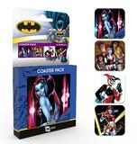 DC Comics Harley Quinn Coaster Set Posavasos