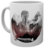 Uncharted 4 Boats Mug Becher