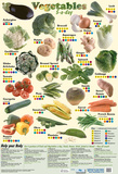 Vegetables - 5 A Day Prints