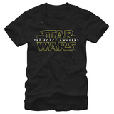 Star Wars The Force Awakens- Starry Logo Camisetas