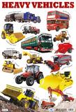 Heavy Vehicles Prints