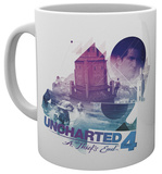 Uncharted 4 Bike Chase Mug Krus