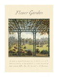 Flower Garden, 1813 Posters by Humphry Repton
