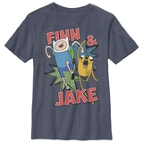 Youth: Adventure Time- Jake And Finn Tシャツ