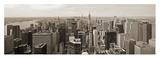 Manhattan Looking South Affischer av Richard Berenholtz