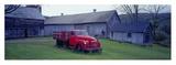 Red Vintage Pickup Konst av Richard Berenholtz