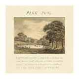 Park Pool, 1813 Art by Humphry Repton