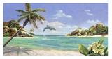 Seychellerne Plakat af Andrea Del Missier