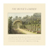The Monk's Garden, 1813 Art by Humphry Repton