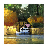 Le Canal Premium Giclee Print by Max Hayslette