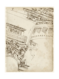 Architects Sketchbook II Posters par Ethan Harper