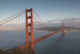The Golden Gate Bridge in San Francisco, California Impressão fotográfica por Jeff Mauritzen