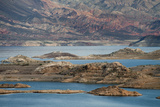 View of the Lake's Western End in Lake Mead National Recreation Area, Nevada Reproduction photographique par Scott S. Warren