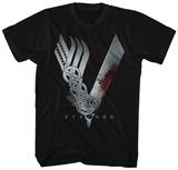 Vikings- Show Logo T-skjorte
