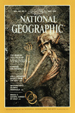 Cover of the May, 1984 National Geographic Magazine Reproduction photographique par O. Louis Mazzatenta