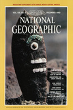 Cover of the December, 1980 National Geographic Magazine Photographic Print by David Hiser