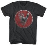 VIKINGS- Distressed SHIELD Tshirts