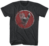 VIKINGS- Distressed SHIELD T-Shirt