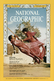 Cover of the January, 1967 National Geographic Magazine Stampa fotografica di Albert Moldvay
