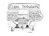 Cartoon Premium Giclee-trykk av David Sipress