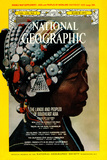 Cover of the March, 1971 National Geographic Magazine Lámina fotográfica por W.E. Garrett
