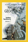 Cover of the September, 1983 National Geographic Magazine Photographic Print