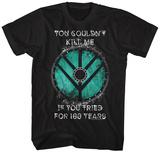 VIKINGS- Lagertha SHIELD Quote T-shirts
