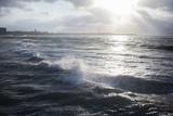 The Atlantic Ocean Along the Coast of Casablanca Photographic Print by Erika Skogg