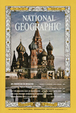 Cover of the March, 1966 National Geographic Magazine Fotografisk tryk af Dean Conger