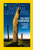 Cover of the August, 2014 National Geographic Magazine Fotografisk trykk av Jim Richardson