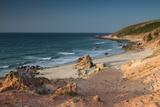 Pedra Furada Near Jericoacoara, at Sunset Impressão fotográfica por Alex Saberi