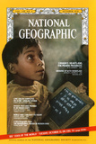 Cover of the October, 1970 National Geographic Magazine Reproduction photographique par James P. Blair