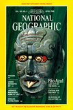Cover of the April, 1986 National Geographic Magazine Fotografisk tryk af William H. Bond