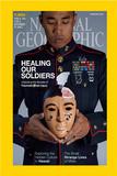Cover of the February, 2015 National Geographic Magazine Fotografisk trykk av Lynn Johnson