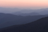 A View of Great Smoky Mountains National Park from Clingman's Dome Photographic Print by Phil Schermeister