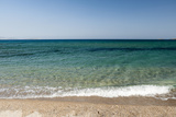 A Scenic View of the Aegean Sea from Soros Beach, on Antiparos Island Photographic Print by Sergio Pitamitz