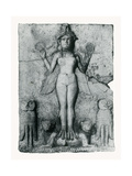 Lilith, Goddess of Death Photographic Print by  Science Source