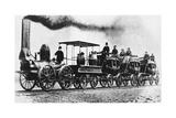 """DeWitt Clinton"" Locomotive Photographic Print by  Science Source"