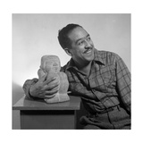 Langston Hughes, American Poet and Activist Fotografie-Druck von  Science Source