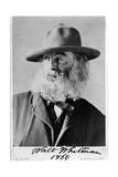 Walt Whitman, American Poet Giclee Print by  Science Source