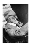 Sigmund Freud, Father of Psychoanalysis Photographic Print by  Science Source