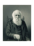Charles Darwin, English Naturalist Photographic Print by  Science Source