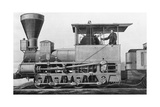 19th Century Locomotive Photographic Print by  Science Source