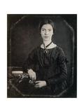 Emily Dickinson, American Poet Reproduction photographique par  Science Source